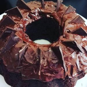 cake, chocolate, homemade,