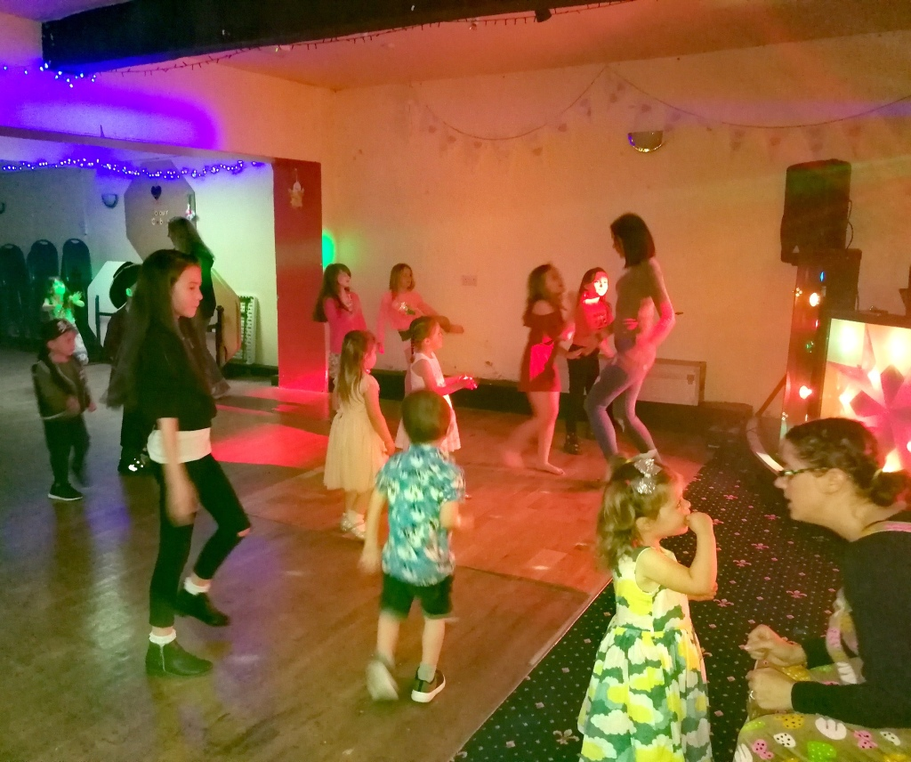 dancing, children, parents, disco, music
