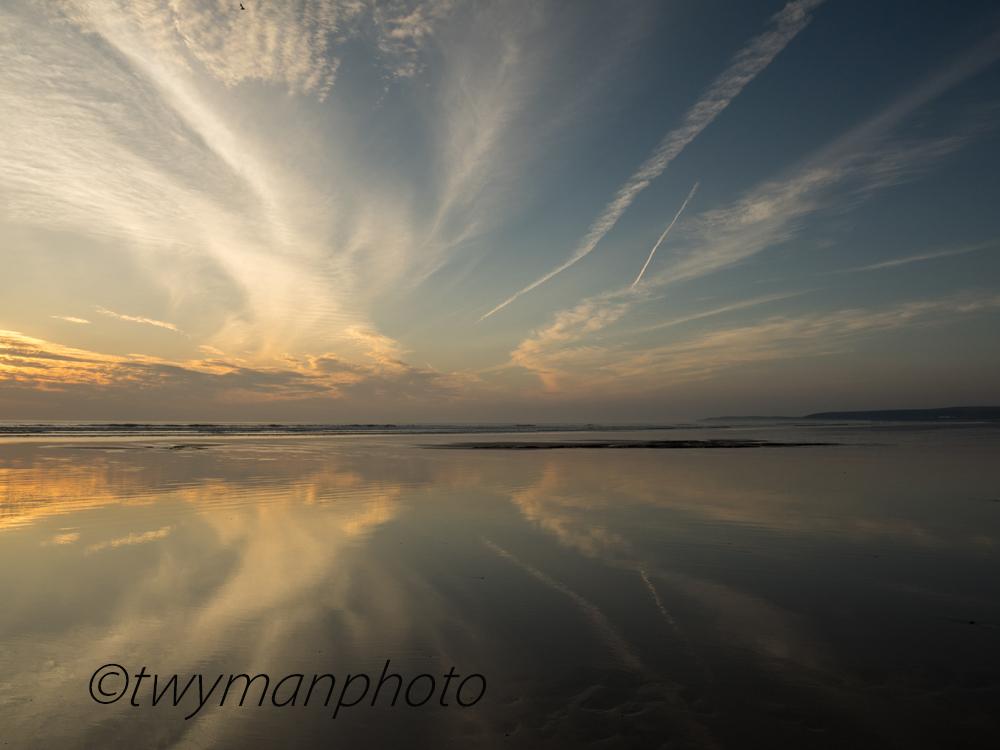Westward Ho, Sunset, beaches, North Devon, photos