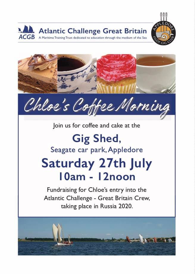Team GB, rowing, atlantic challenge, Appledore, Coffee morning