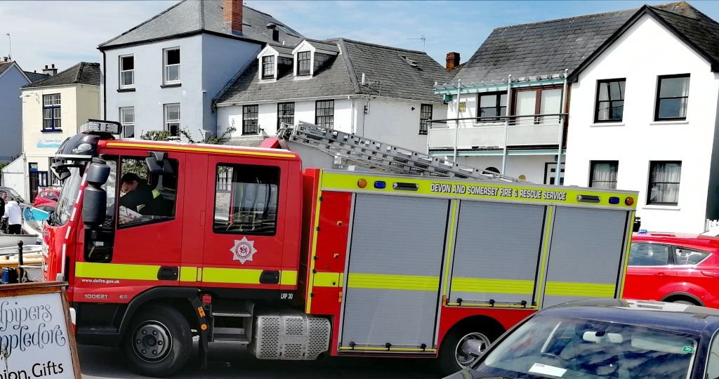 Devon, fire and rescue, cuts to services, rural, communities