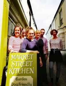 Happy staff, Market Street Kitchen