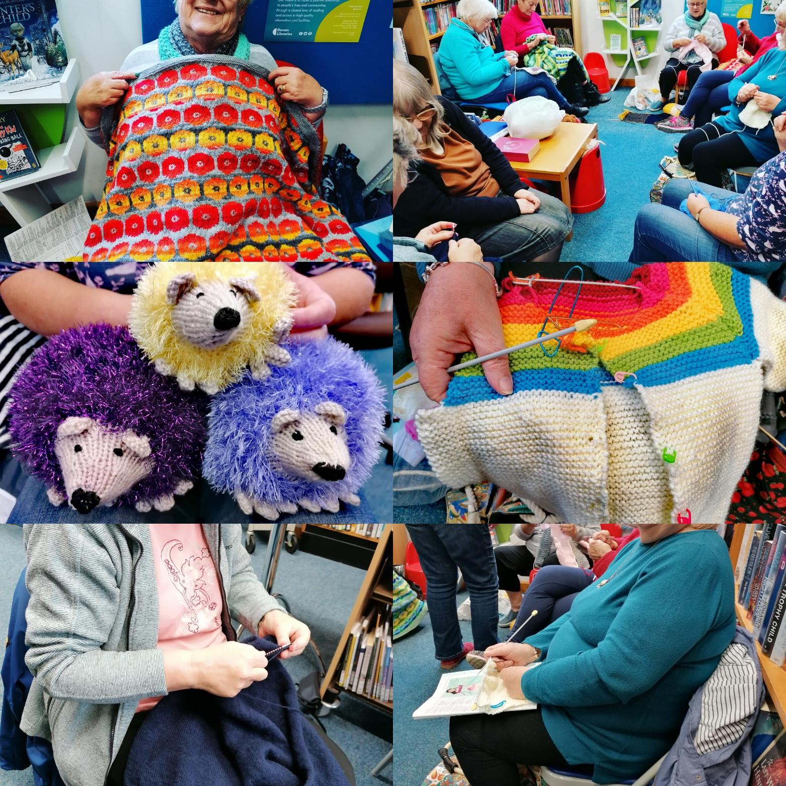 Hedgehogs, crochet, colour, crafts, caring,