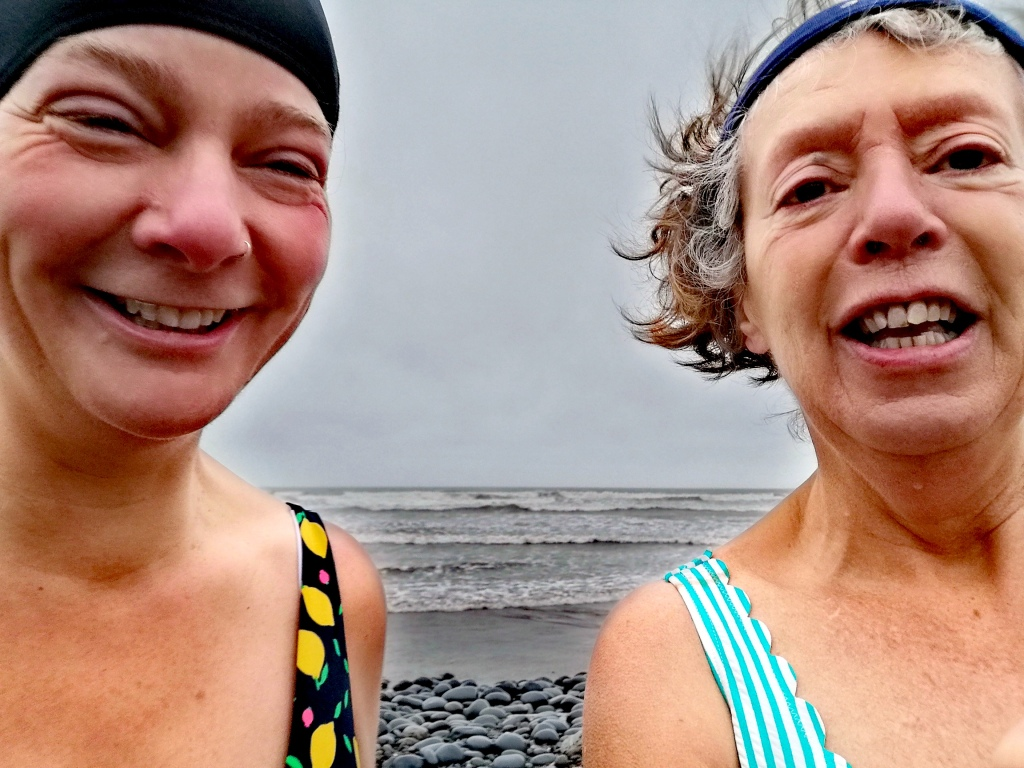 Dip, colwater, swimming, after drop, mental health