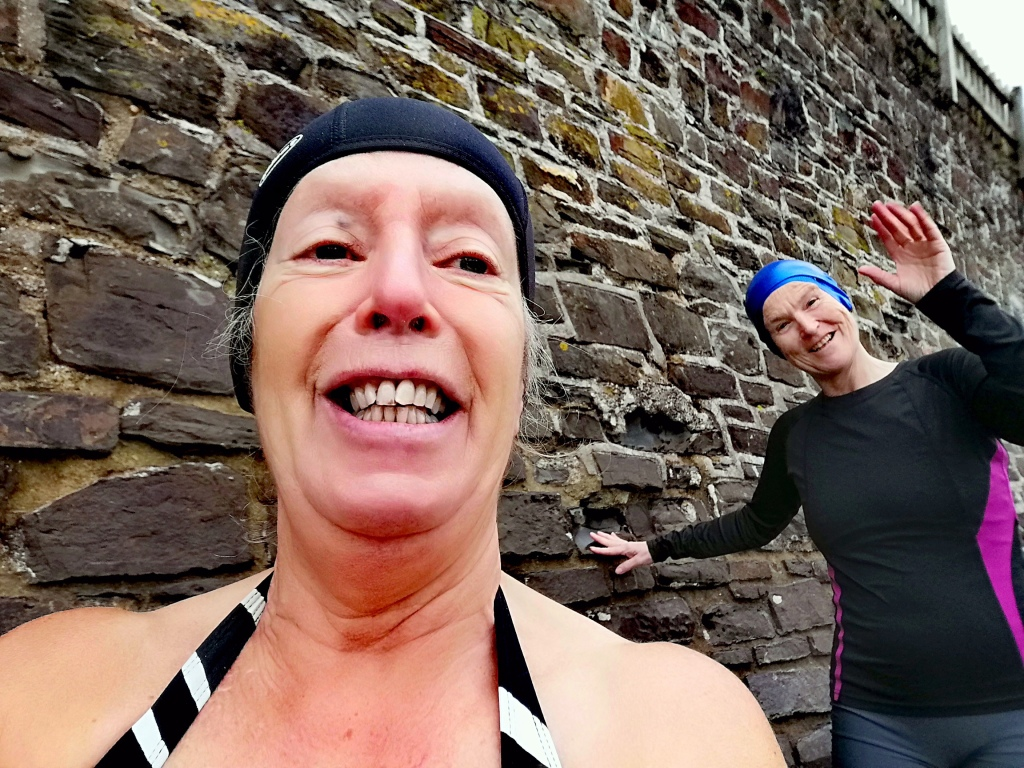 Cold water swimming, Pandemic, Mental Health, Appledore, Mindfulness,